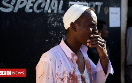 103224664 sa1 - South Africa violence targets Soweto's foreign-owned shops