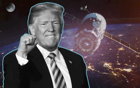 p06694v0 - Space Force: Trump 2020 asks supporters to vote on logo