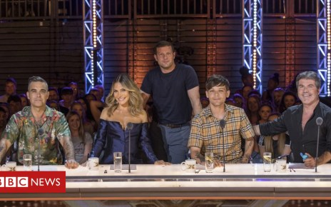 103249766 the x factor sr15 01 - Robbie Williams, Ayda Field, Louis Tomlinson: All change for X Factor 2018