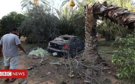 103268148 hi048947448 - Hundreds escape Libya prison amid deadly clashes in Tripoli