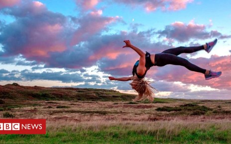 103300283 p06kby6w - Dorset acrobat quits teaching job to follow her dreams