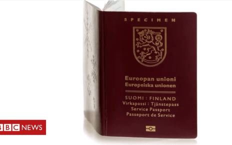 103332424 passport - Finnish travellers warned about flawed passports