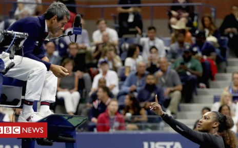 103382193 gettyimages 1029945934 - Serena Williams: Are female tennis players treated unfairly by umpires?