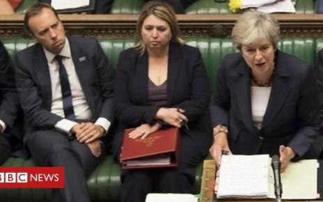 103393304 p06kyhg7 - Gove: Theresa May leadership challenge is 'loose talk'