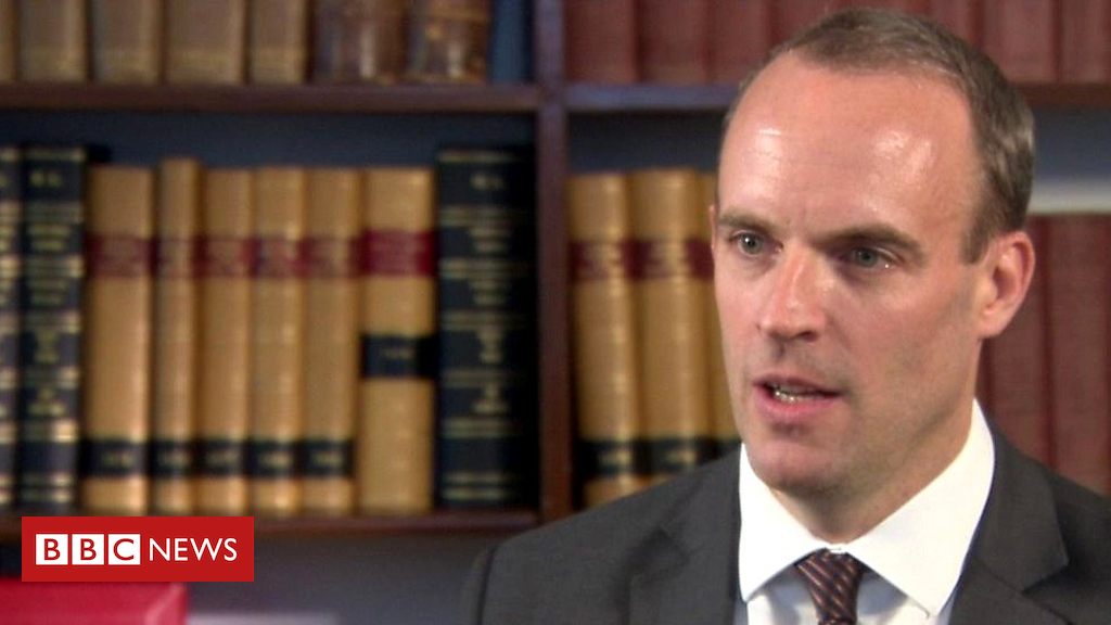 103412967 p06l2kc7 - Brexit: Dominic Raab on UK plan for no-deal with EU