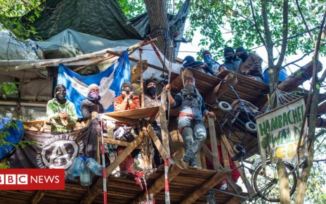 103456297 mediaitem103456296 - German treehouse protest dismantled by police