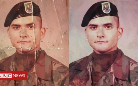 103524870 26fd7627 064c 4d06 87f0 4f8c7431a77d - Dad's damaged army photo restored by social media