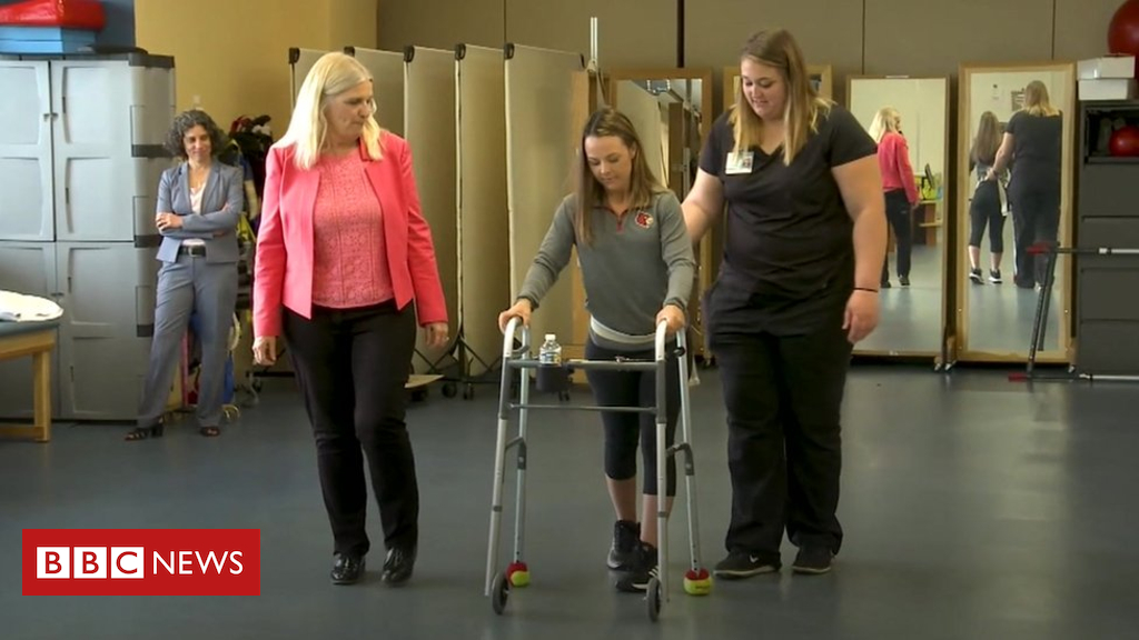 103574295 spinaltap - 'Spinal implant helped me walk again'