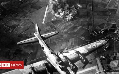 103575648 airforcebomb - World War II bombs 'felt in space'