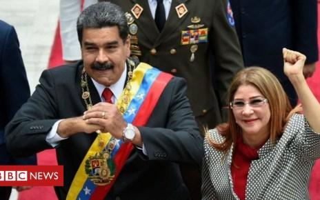 103575921 7959e107 d869 4942 9f49 2c3c88cdddd9 - US imposes sanctions on Venezuela's First Lady Cilia Flores