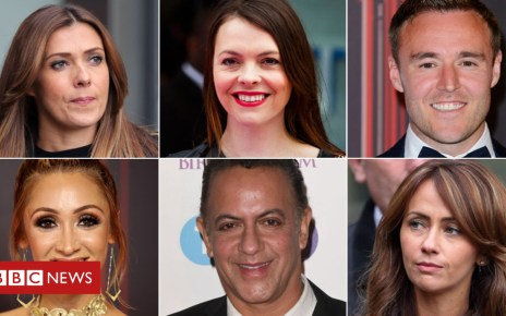 103599837 corrie composite - Coronation Street stars and Frank Bruno settle hacking claims
