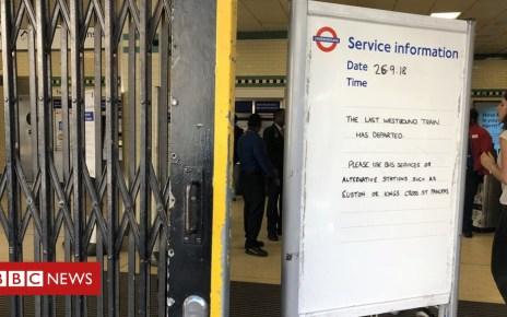 103610696 dobmd2dwsaacyz3 - Second Piccadilly Line Tube strike begins