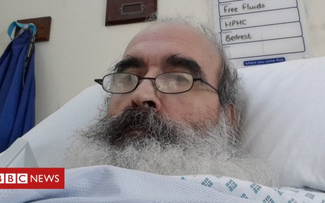 93787201 guedes - 'Bed-blocking' patient Adriano Guedes dies in hospital