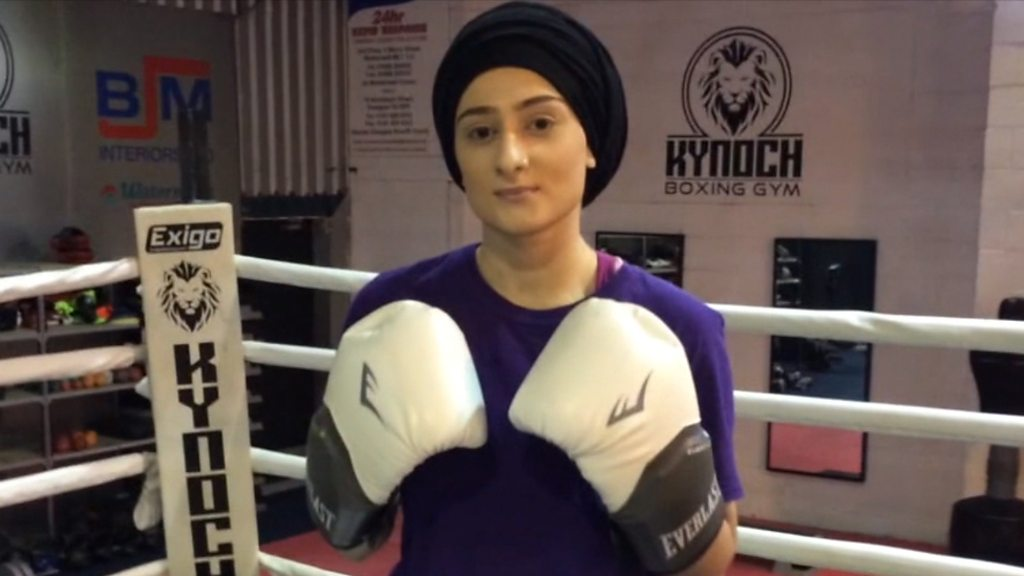 p06m6mft - 'I'm a Muslim woman, I'm visually-impaired and I'm a boxer'