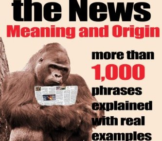 Idioms in the News 1000 phrases real examples - Idioms in the News - 1,000 phrases, real examples