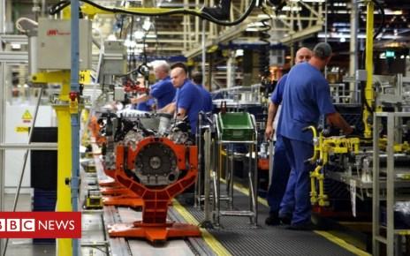 100366079 ford.bridgend.pa - Jaguar engine production line at Ford in Bridgend begins shutdown