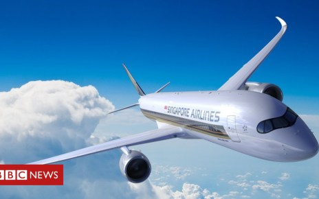101912980 a350 ulr rr sia v45 resized - The world's longest non-stop flight arrives in New York