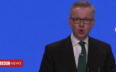 103661355 p06mnvjy - Conservative conference: Michael Gove on Jeremy Corbyn