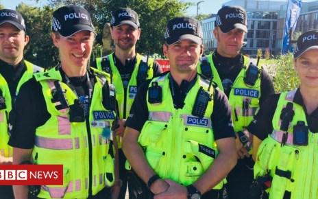 103715081 capture - Northampton University pays for police patrols to prevent 'strain'