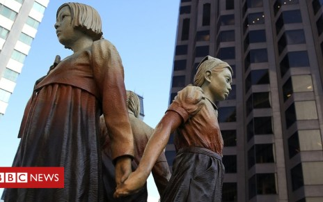103715769 gettyimages 869092860 - Osaka cuts San Francisco ties over 'comfort women' statue