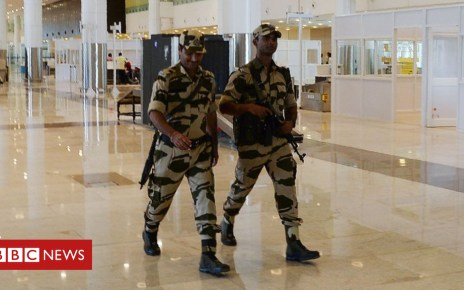 103776679 gettyimages 1042442990 - Indian airport police told to cut down on smiling