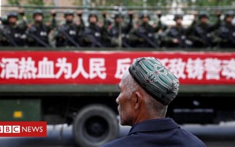 103793910 mediaitem103793909 - China Uighurs: Xinjiang 'legalises' Muslim internment camps