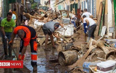 103827933 049901100 1 - Majorca floods: Scenes of hell on an island paradise