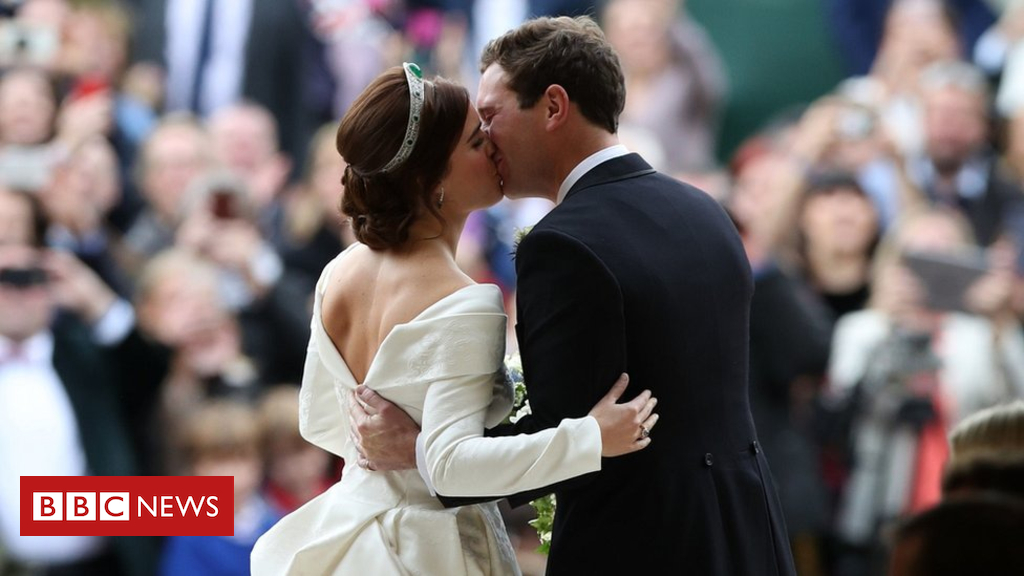 103836709 hi049918370 - Stars at Princess Eugenie's wedding