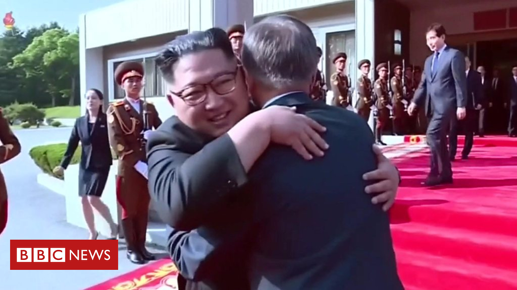 103845003 p06nqr7z - President Moon: Kim Jong-un 'demonstrates humble leadership'