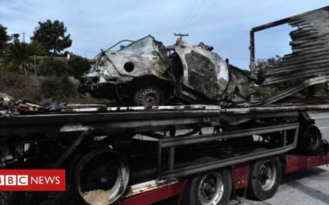 103854077 mediaitem103854073 - Greek road inferno 'kills 11 migrants'