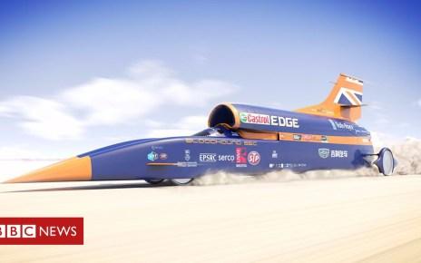 103877057 p06nyqhp - Supersonic Bloodhound hits cash roadblock