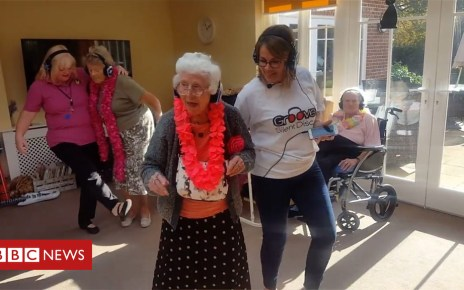 103911938 p06p6wvc - Silent disco for Hertfordshire dementia care home residents