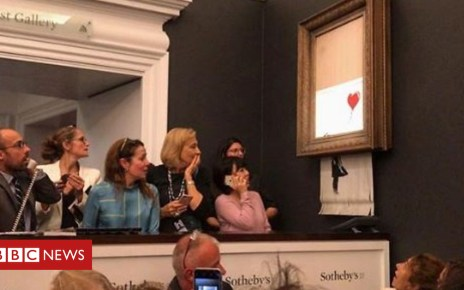 103912692 p06p568z - 'Shred the Love' reveals Banksy stunt did not go to plan