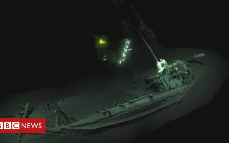 103972641 ship - Black Sea ship: 'World's oldest intact wreck' found
