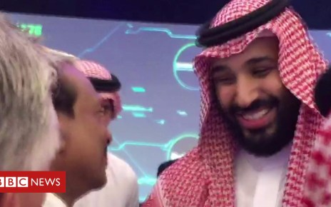 104002211 p06pnr3h - Crown prince: Investment conference is 'great'