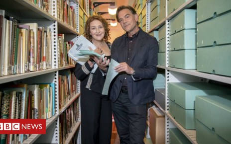 104012882 taggart001 - Taggart star donates scripts to archive