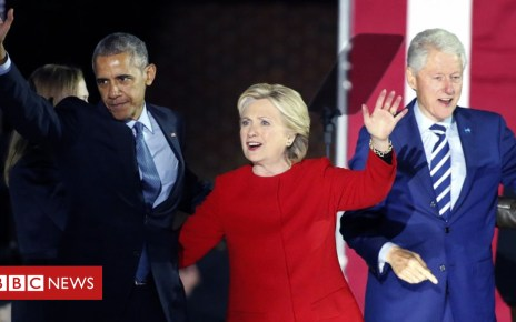 104013712 gettyimages 621679820 - 'Explosive device' sent to Clintons and Obama