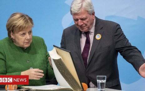 104047288 050183560 1 - Hesse election: Merkel facing double trouble in German vote
