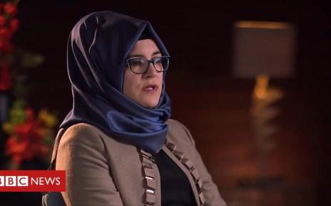 104092341 p06q6z1n - Jamal Khashoggi's fiancee on writer's death in Saudi consulate