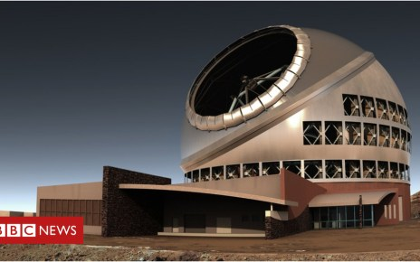 104115862 side view of tmt complex  1 - Hawaii top court approves controversial Thirty Meter Telescope