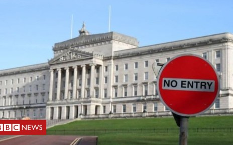 96442209 stormont - Stormont talks briefing a 'waste of time'