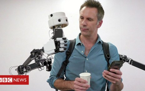 104123291 p06qbwz8 - Robot backpack: How this Fusion bot aids collaboration