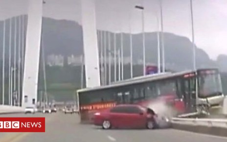 104142487 p06qljdt - China bus plunge: Fight blamed for causing fatal crash