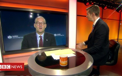 104226715 p06r52tg - Sainsbury's boss warns food 'can't be stockpiled' for no-deal Brexit
