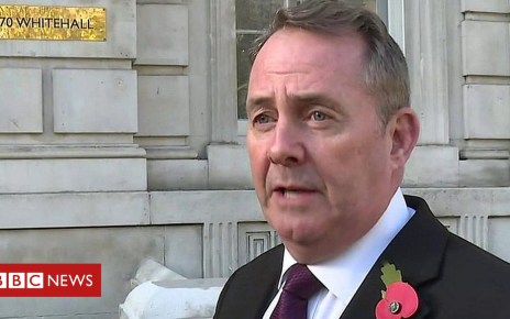 104230295 p06r52yx - Liam Fox: UK must be able to end backstop