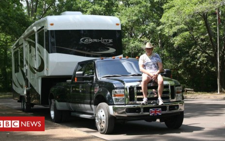 104304192 truck - Dream job: 'My 9-to-5 is a US road trip'