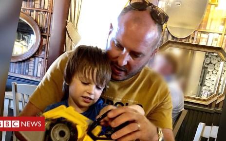 104326095 p06rn18g - Rachael Bland's husband, Steve, on how their son Freddie has reacted to his mum's death
