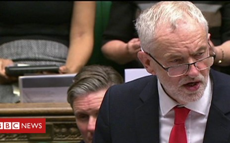 104352346 p06rv8cj - Brexit: Jeremy Corbyn reaction to Theresa May deal update