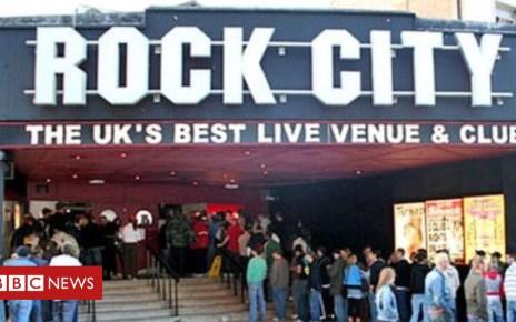 104378477 rockcity - Nottingham Rock City evacuated after 'flare set off'