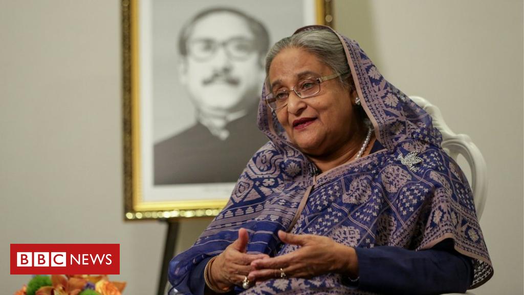 104388837 mediaitem104388836 - Sheikh Hasina: Lawsuit threat over Bangladesh PM 'tail' error